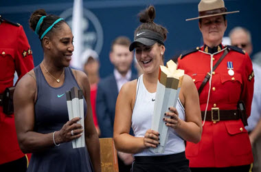 Bianca Andreescu wins the Rogers Cup after Serena Williams Retires