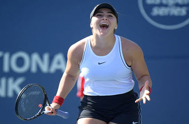 Bianca Andreescu Advances to Rogers Cup Quarterfinals