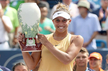 Madison Keys Takes her First Cincinnati Championship Title