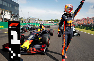 Max Verstappen Takes pole at Hungarian Grand Prix