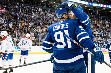 Toronto Maple Leafs Defeat the Montreal Canadiens 3-0 in Pre-season Game