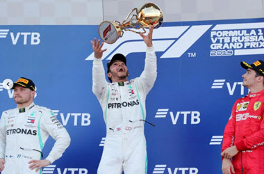 Lewis Hamilton Wins his Fifth Straight Russian Grand Prix
