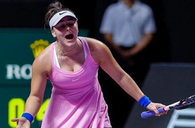 Andreescu Loses Opening Match at WTA Finals