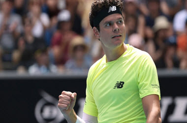 Canadian Milos Raonic Defeats Marin Cilic in Straight Sets to Advance to Aussie Open Quarterfinals