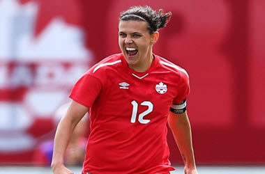 History Made as Christine Sinclair Sets International Goal Record