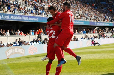 TFC Season Opener ends in a Draw against the San Jose Earthquakes