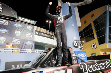 Kyle Busch and Harrison Burton both earn wins at Homestead