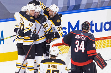 Boston Bruins Take 2-1 Series Lead over the Carolina Hurricanes