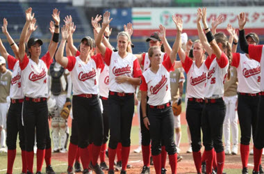 Canada To Play for Bronze In Women's Softball