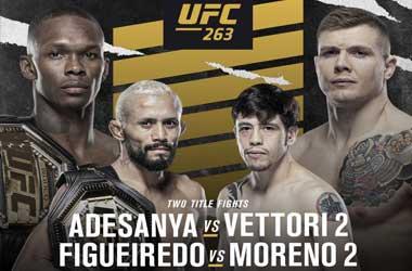 UFC 263:  Israel Adesanya vs. Marvin Vettori 2 (12th June 2021)