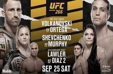 UFC 266: Alex Volkanovski vs Brian Ortega (25th September 2021)